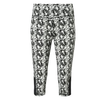 Craghoppers NosiLife Luna Cropped Tight - Charcoal Print