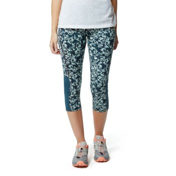 Craghoppers NosiLife Luna Cropped Tight - Loch Blue Print