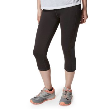 Craghoppers NosiLife Luna Cropped Tight - Charcoal