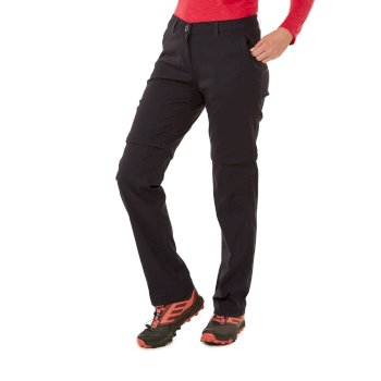 Craghoppers Kiwi Pro II Convertible Trousers - Dark Navy
