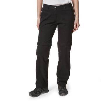 Craghoppers Kiwi Pro II Convertible Trousers - Black