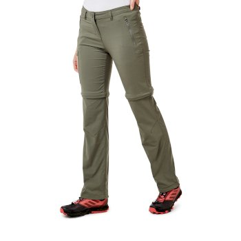 Craghoppers NosiLife Pro II Convertible Trousers - Soft Moss