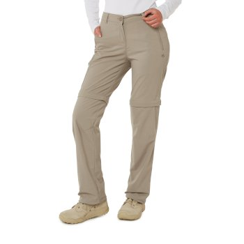 Craghoppers NosiLife Pro II Convertible Trousers - Mushroom