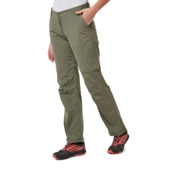 Craghoppers NosiLife III Convertible Trousers - Soft Moss