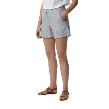Craghoppers Rosa Shorts - Dark Navy Railroad