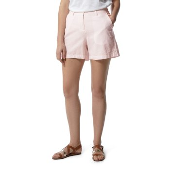 Craghoppers Rosa Shorts - Seashell Pink Railroad