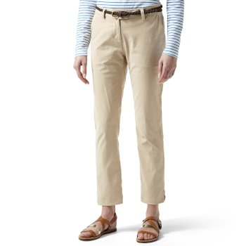 Craghoppers NosiLife Fleurie II Trousers - Desert Sand