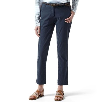 Craghoppers NosiLife Fleurie II Trousers - Soft Navy