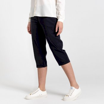Craghoppers Kiwi Pro II Crop Trouser - Dark Navy