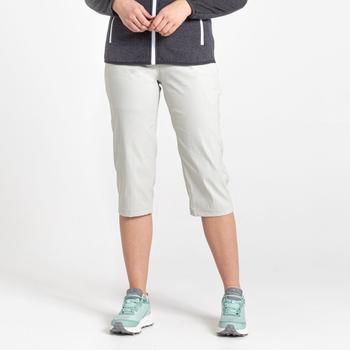 Craghoppers Kiwi Pro II Crop Trouser - Dove Grey
