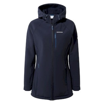 Craghoppers Ara Weatherproof Hooded Jacket - Blue Navy