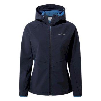 Craghoppers Kalti Weatherproof Hooded Jacket - Blue Navy