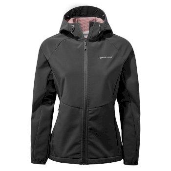 Craghoppers Kalti Weatherproof Hooded Jacket - Charcoal