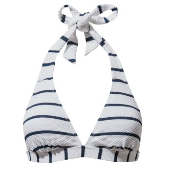 Craghoppers NosiLife Marina Bikini Top - Blue Navy Stripe