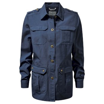 Craghoppers Ariah Shirt Jacket - Ombre Blue