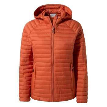 Craghoppers Venta Lite Hooded Jacket Warm Ginger