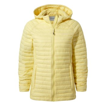 Craghoppers Venta Lite Hooded Jacket - Buttercup