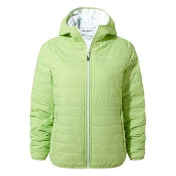 Craghoppers Compresslite III Hooded Jacket - Green Apple