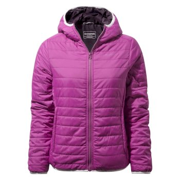 Craghoppers Compresslite III Hooded Jacket Azalia Pink