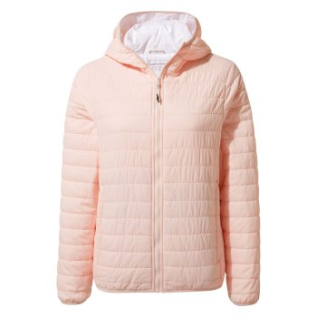 Craghoppers Compresslite III Hooded Jacket - Seashell Pink