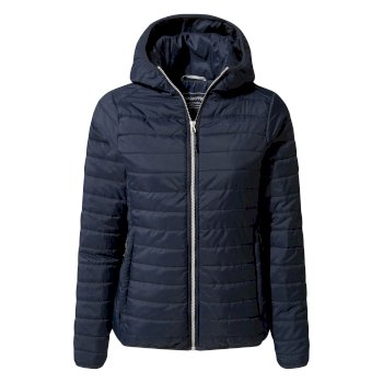 Craghoppers Compresslite III Hooded Jacket - Blue Navy