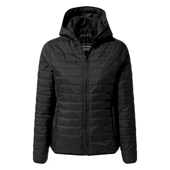 Craghoppers Compresslite III Hooded Jacket - Black / Black