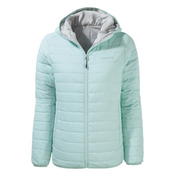 Craghoppers Compresslite III Hooded Jacket - Frost Blue