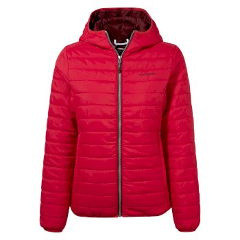Craghoppers Compresslite III Hooded Jacket - Winter Rose