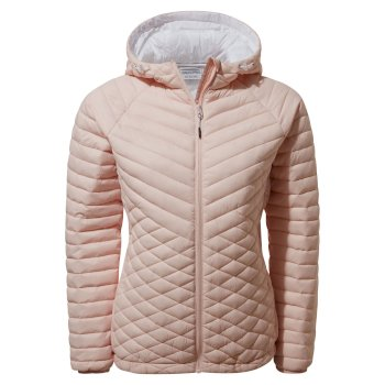 Craghoppers Expolite Hooded Jacket - Seashell Pink