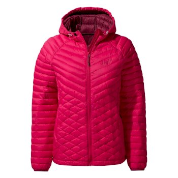 Craghoppers Expolite Hooded Jacket - Winter Rose