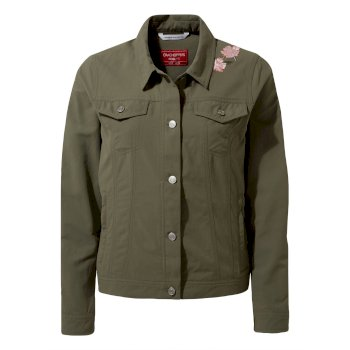 Craghoppers Nosilife Juliana Jacket - Soft Moss with emb