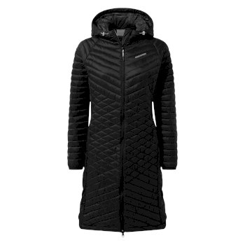 Craghoppers Expolite Long Hooded Jacket - Black
