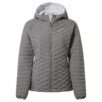 Craghoppers ExpoLite Hooded Jacket - Soft Grey Marl