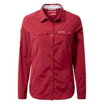 NosiLife Adventure Long-Sleeved Shirt - Fire Red