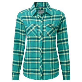 Craghoppers Valemont Shirt Turquoise