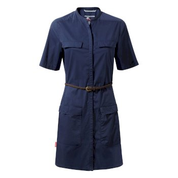 Craghoppers NosiLife Symone Shirt Dress - Night Blue