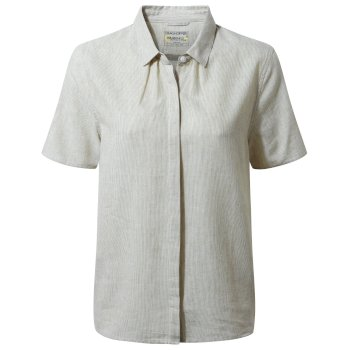 Craghoppers Natalie Short-Sleeved Shirt - Olive Green
