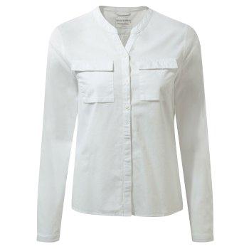 Craghoppers Ravello Long-Sleeved Shirt Optic White