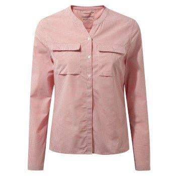 Craghoppers Ravello Long-Sleeved Shirt Watermelon Combo