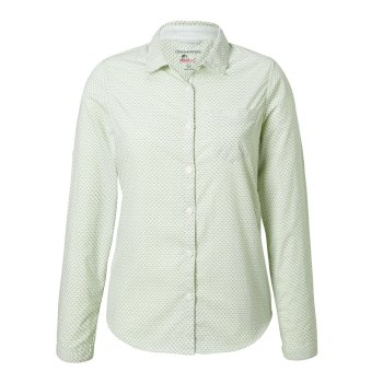 Craghoppers NosiLife Adoni Long Sleeved Shirt Bush Green