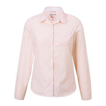 Craghoppers NosiLife Adoni Long Sleeved Shirt Blossom Pink
