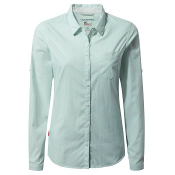 Craghoppers NosiLife Adoni Long Sleeved Shirt Seaspray