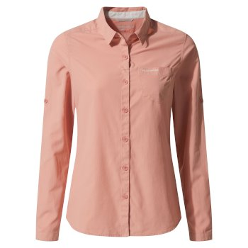 Craghoppers NosiLife Bardo Long-Sleeved Shirt - Rosette