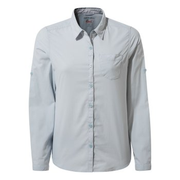 Craghoppers NosiLife Bardo Long Sleeved Shirt - Mineral Blue