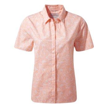 Craghoppers Silla Short Sleeved Shirt Blossom Pink