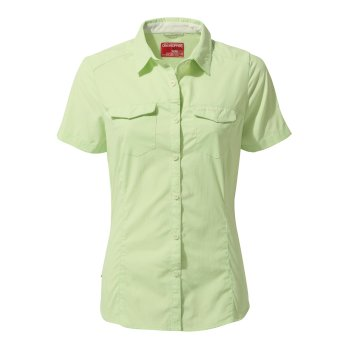 NosiLife Adventure II Short-Sleeved Shirt  - Soft Pistachio