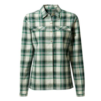 Craghoppers Dauphine Long-Sleeved Shirt - Verde Check