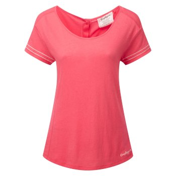 Craghoppers Thea Short-Sleeved Tee Watermelon