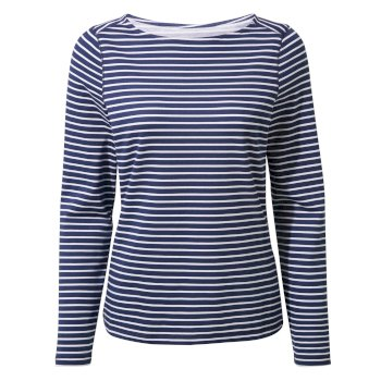 Craghoppers NosiLife Erin Long-Sleeved Top  - Night Blue Combo
