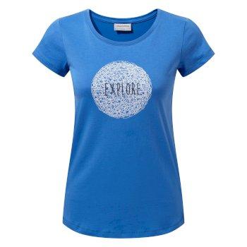 Craghoppers Tansa Short-Sleeved T-Shirt BlueBell